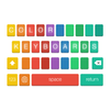 NuVex LLC - Color Keyboards for iOS 8! artwork